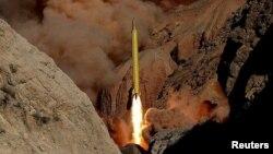 Баллистикалык ракета сыналган учур. 9-март, 2016-жыл.