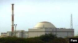 نمای کلی از نیروگاه هستهای بوشهر