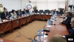 Архивска фотографија - Прес-конференција на Судскиот совет, кога не негово чело беше Зоран Караџовски.