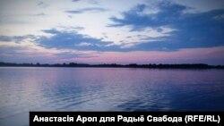 ФОТА ДНЯ. Анастасія Арол, заход сонца на Браслаўскіх азёрах, 2014