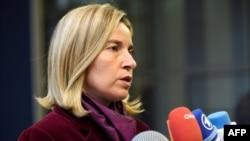 Федерика Могерини, ЕО-ның сыртқы саясат жөніндегі комиссары. Люксембург, 17 қазан 2016 жыл.