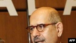 آقای برادعی می گوید، برای آژانس مهم است که در اولین فرصت ممکن در باره برنامه اتمی ایران نتیجه گیری کند.(عکس: AFP)