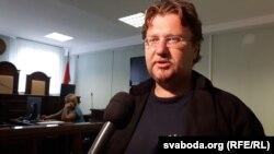 Максім Вінярскі 3 верасьня ў судзе