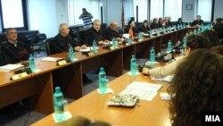 Седница на Врховен суд на Република Македонија.