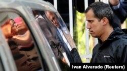 Venezuelan opposition leader Juan Guaido (file photo)