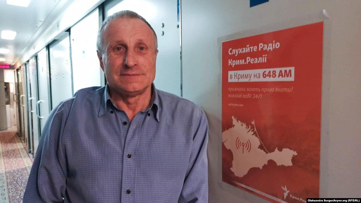 Крымского журналиста Радио Свобода Николая Семену встретили в Киеве