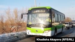 Пассажирский автобус в Семее. 24 января 2020 года.