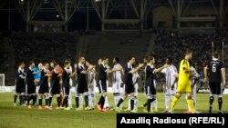 Azərbaycan, N Neftchi-Partizan, UEFA-Avropa liqası play-off, Bakı, 28 avqust 2014