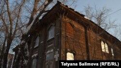 Здание солдатской синагоги в Томске