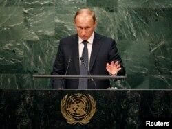 Выступление Владимира Путина в ООН