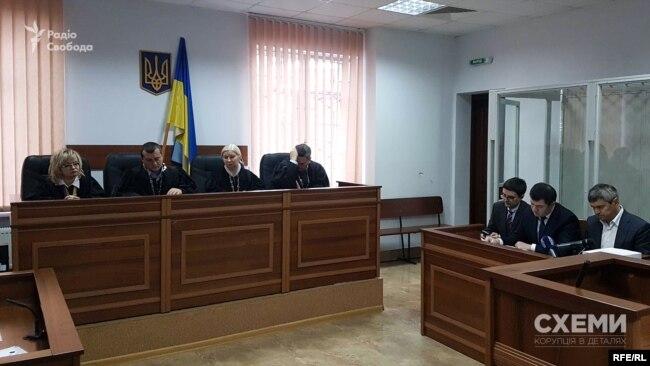 Судове засідання у справі Романа Насірова