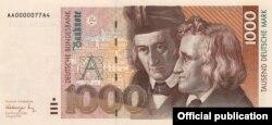 1000 нямецкіх марак з братамі Грым сэрыі 1989/90
