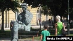 Monumentul lui Nikola Tesla de la Uzice