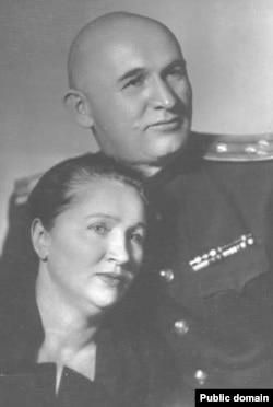 Петро Григоренко із дружиною Зінаїдою
