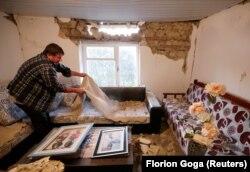 Fshati Zhurje - Dëmet që shkaktoi tërmeti 5.8 shkallë