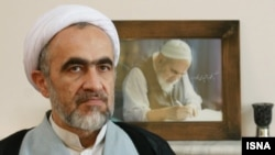 Ahmad montazer, son of Hussein-Ali Montazeri prominent Iranian theologian, undated