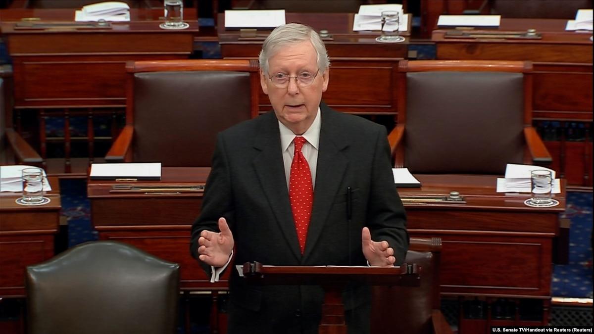 Импичмент Трампа: в Сенате состоялась спор через процедуру