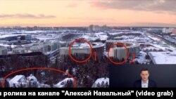 1) «Skolkovo Park» yaşayış kompleksinin 1-ci korpusu. 2) Yaşayış kompleksinin 6-cı korpusu. 3) Igor Shuvalov-un daçası