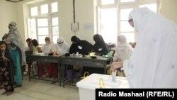سوات کې د انتخاباتو فایل فوټو