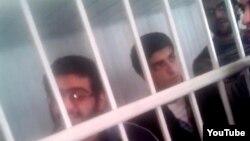 Активисты NIDA в суде, Баку 2013