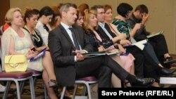 Sa konferencije u Podgorici, foto: Savo Prelević