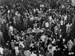 Биржевой крах 1929 года, биржа в Нью-Йорке