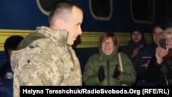 Тарас Колодій повернувся з полону бойовиків, Львів, 22 грудня 2016 року