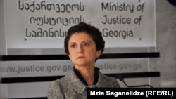 Конфликт между министром юстиции Теей Цулукиани и председателем Верховного суда набирает обороты