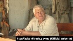 Микола Гнатушенко, рибалка з Бердянська