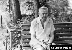 Один из руководителей подполья в нацистском лагере Эбензее Владимир Сергеевич Соколов (1906–1984). После войны он жил в Омске. Из архива И. Ф. Назарова.