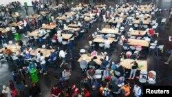 Միգրանտների ճաշարան Մյունխենում, 7-ը սեպտեմբերի, 2015թ․