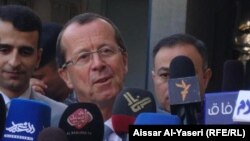 ممثل الأمم المتحدة في العراق مارتن كوبلر