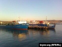 Керченський порт, грудень 2015