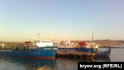Керченская переправа, порт «Крым», архивное фото