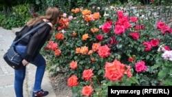 «Розовый вальс» в Никитском ботаническом саду