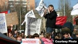 Ижевск. Митинг протеста. Фото Надежды Гладыш