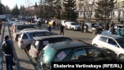 Автопробег в Шелехове 31 октября