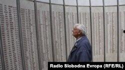 Spomenik ubijenim licima u logoru Omarska