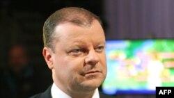 Премьер-министр Литвы Саулюус Сквернялис (архив)