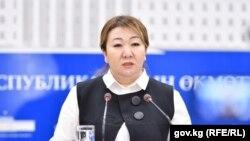 Айнура Акматова.