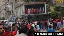من مسيرة لأنصار جماعة الأخوان المسلمين في القاهرة