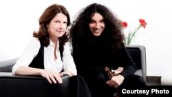 Спрскиот виолинист Немања Радуловиќ и американската пијанистка Сузан Маноф.