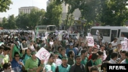 Mir Hüseyn Musəvinin tərəfdarları, Tehran, 8 iyun 2009