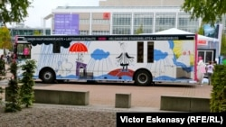 Printre cărți și oameni la Tîrgul Internațional de Carte de la Frankfurt
