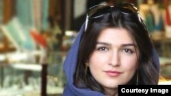 Гёнче Гхавами, арестованная в июле 2014 года за то, что осмелилась посетить матч по волейболу между мужскими сборными Ирана и Италии