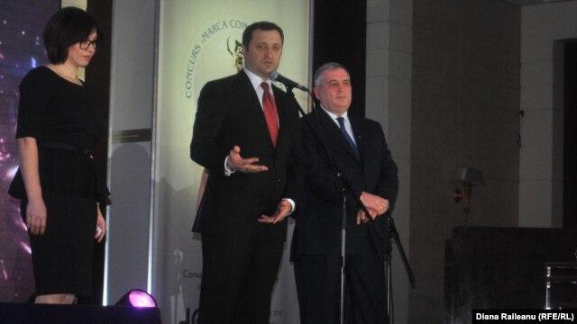 """Vlad Filat vorbind la """"Marca Comercială a anului"""""""