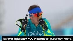 Алексей Полторанин на Олимпиаде в Пхёнчхане.