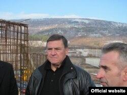 Milutin Mrkonjić u obilasku radova na gradnji Koridora 10