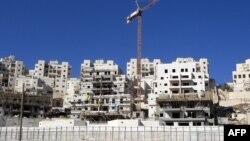 Изградбата на населби на Западниот брег