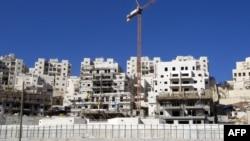 Изградбата на еврејските домови на Западниот брег